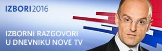 Izbori 2016 - Izborni razgovori u dnevniku Nove Tv