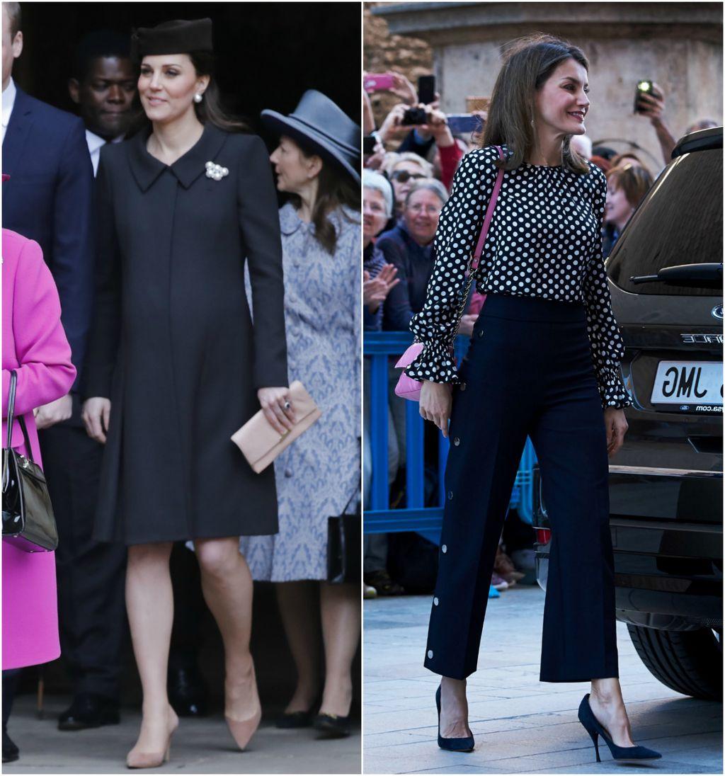 Vojvotkinja od Cambridgea i kraljica Letizia na uskrsnoj misi