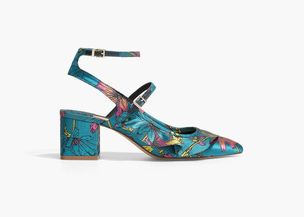 Stradivarius, svilene sandale