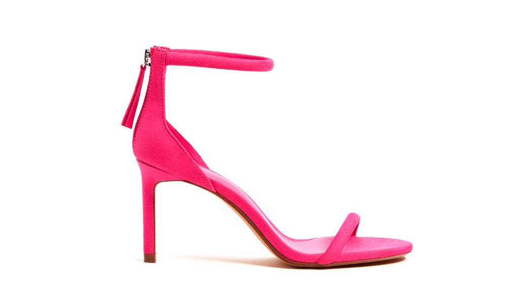 Bershka, sandale na petu s remenčićima