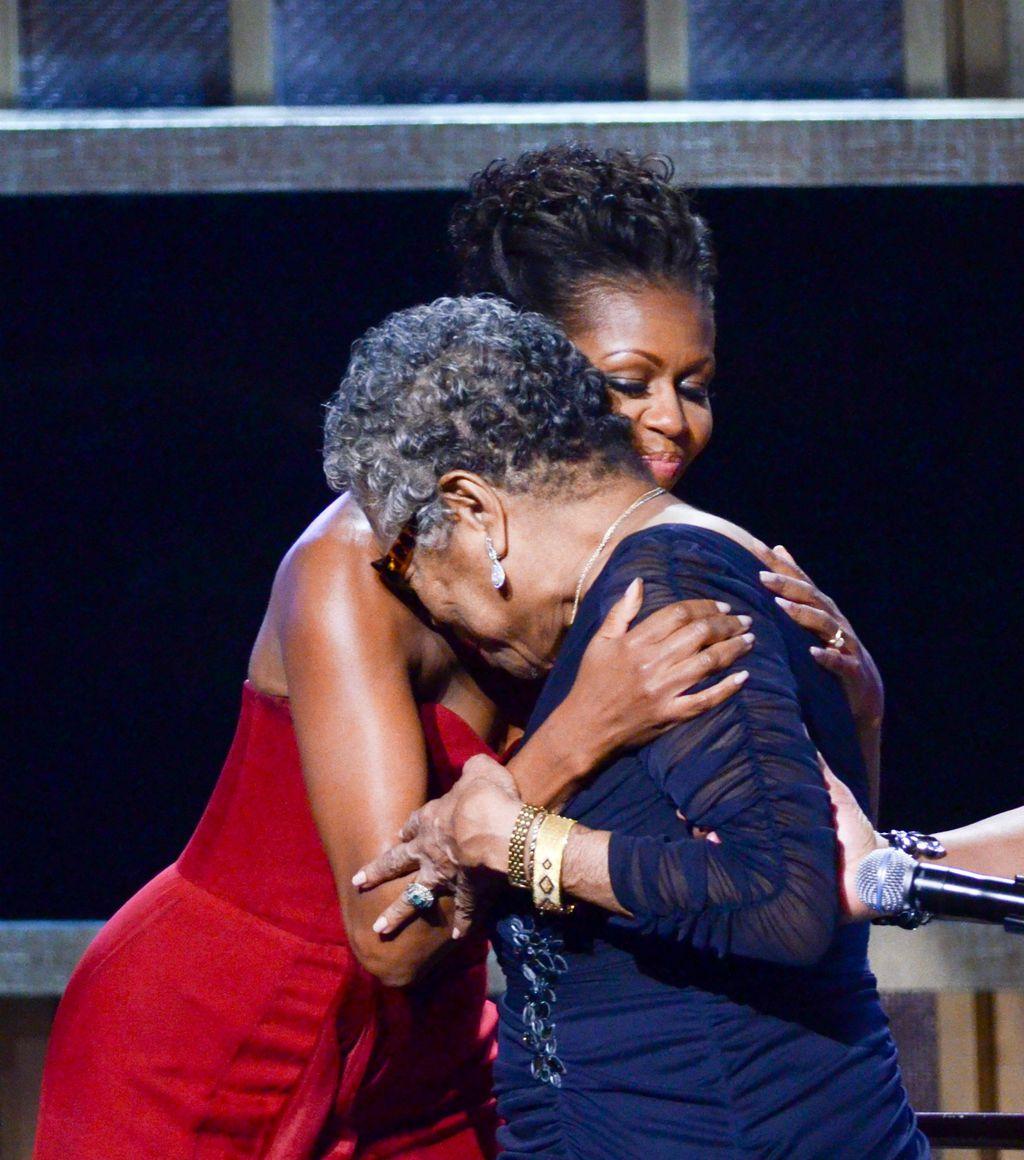 Maya Angelou i Michelle Obama