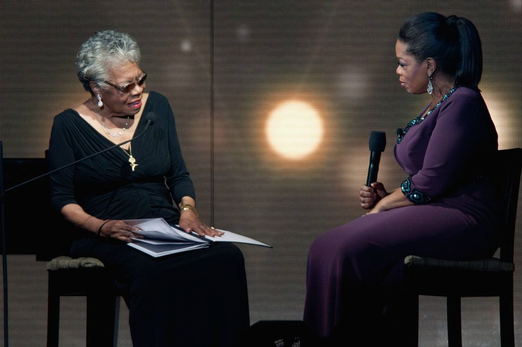 Maya Angelou i Oprah Winfrey