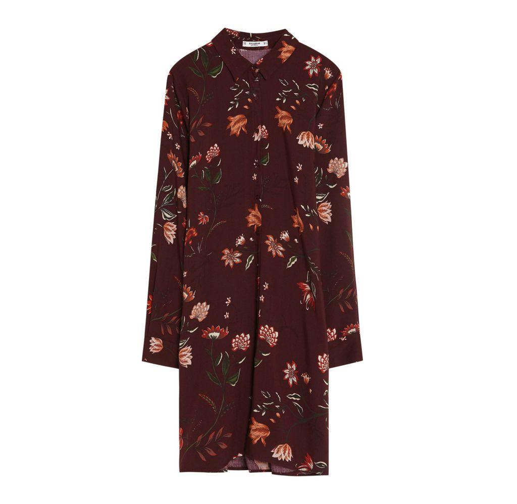 Košulja-haljina Pull&Bear