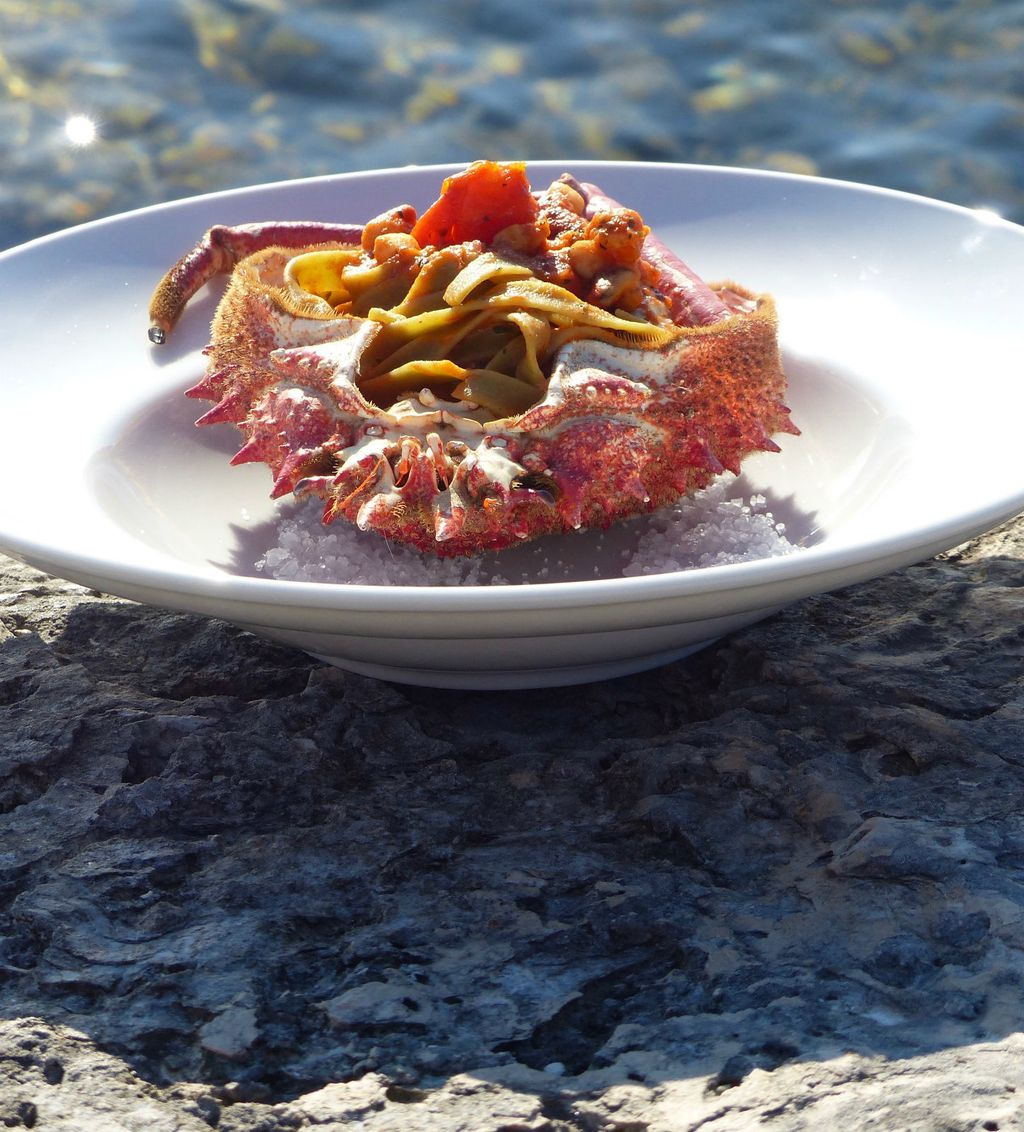 Domaća istarska kuhinja u restoranu Navigare u marini Nautica