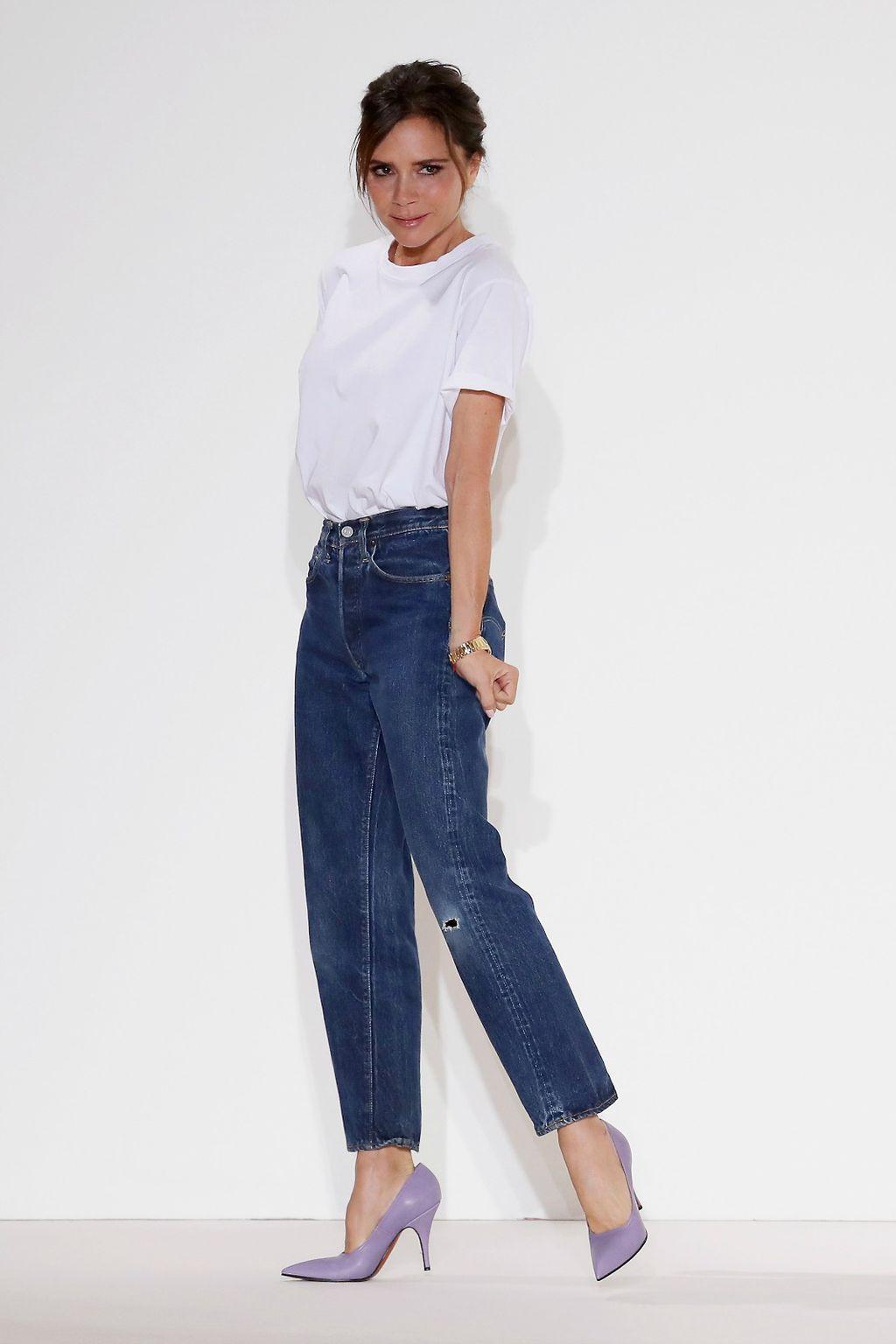 Victoria 2017. godine nakon svoje revije na Njujorškom tjednu mode