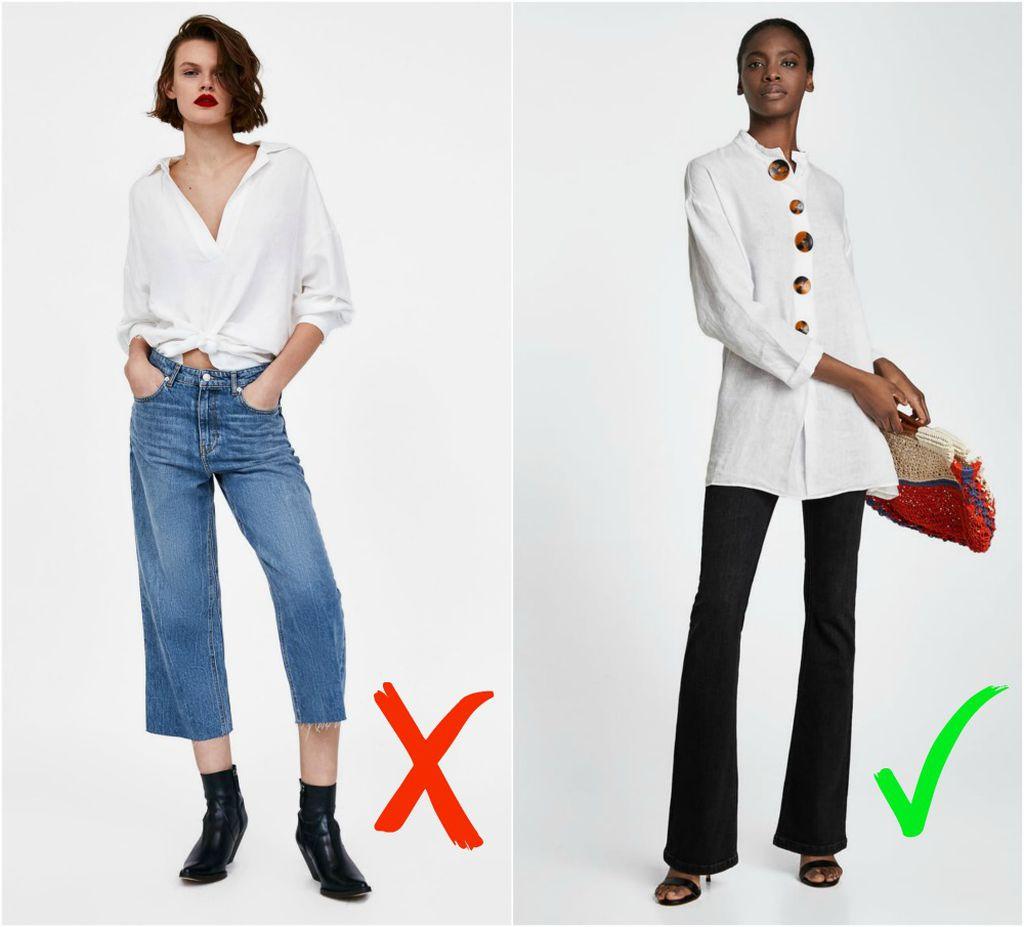Zara: Midi traperice (229 kn) i dugačke traperice (229 kn)