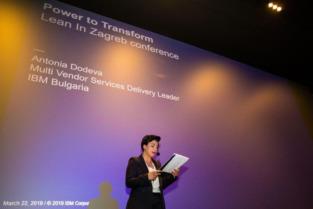 Antonia Dodeva, bila je key speaker na konferenciji Lean In Zagreb (Foto: Samir Cerić Kovačević) - 2