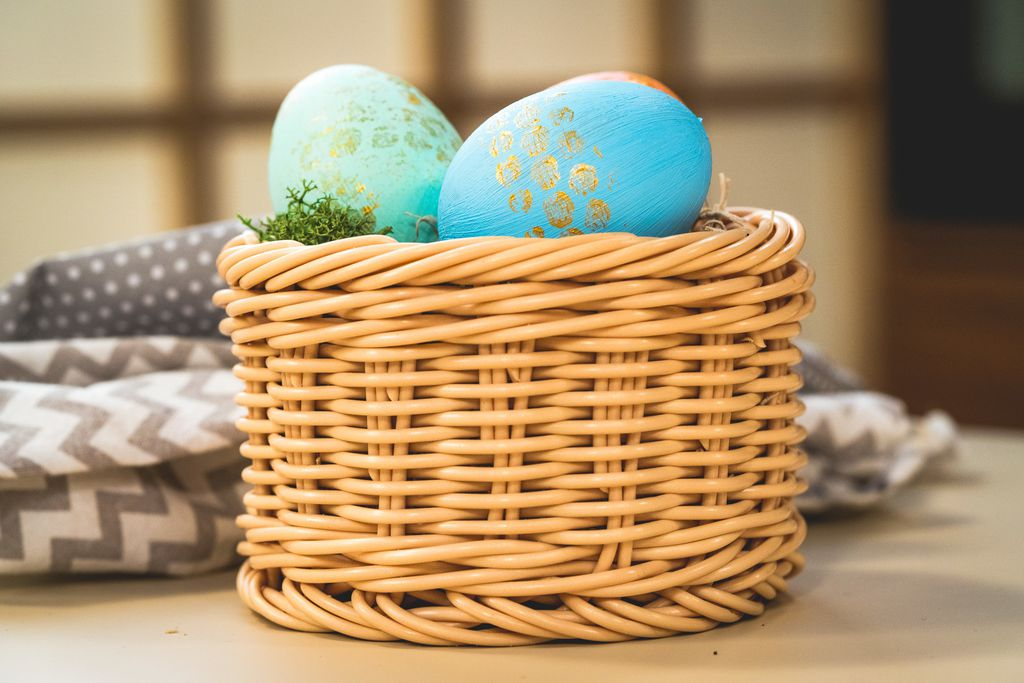Pastelno- zlatna uskrsna jaja na tri načina - 2