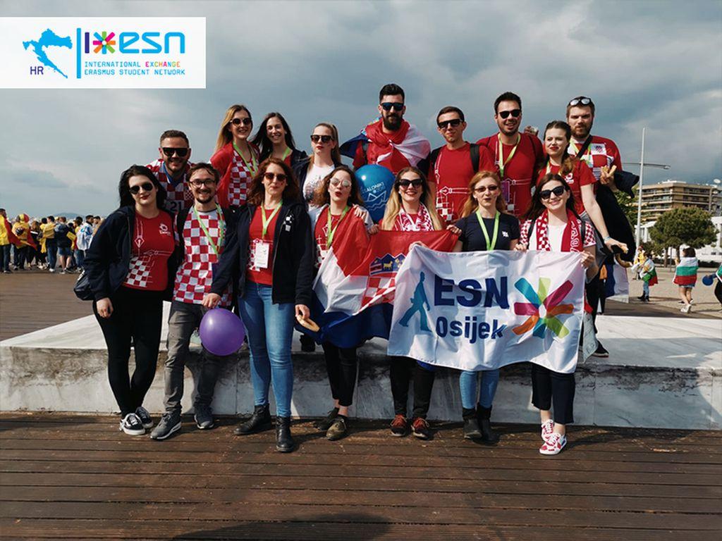 Ostvareni veliki snovi ESN-a Hrvatska