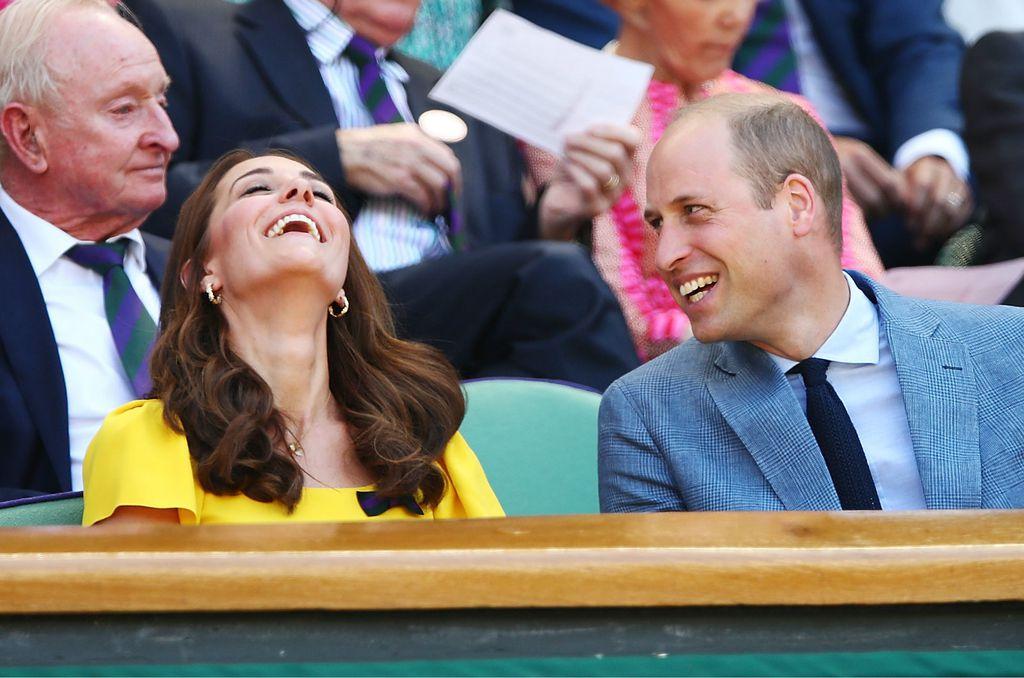 Nasmijana Catherine i šaljivi William na Wimbledonu 2018. godine