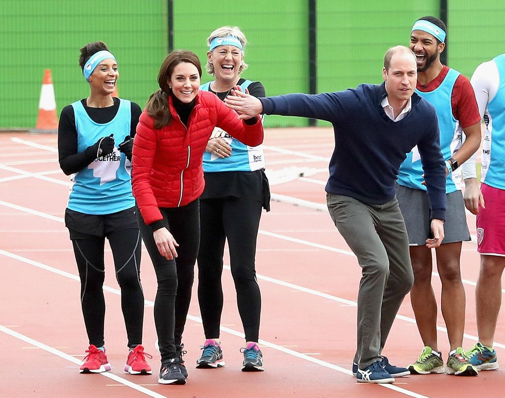 I utrka na treningu za Londonski maraton započela je sa smijehom
