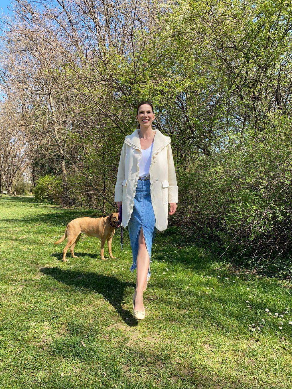 Bojana Gregorić Vejzović dan počne kavom i šetnjom psa