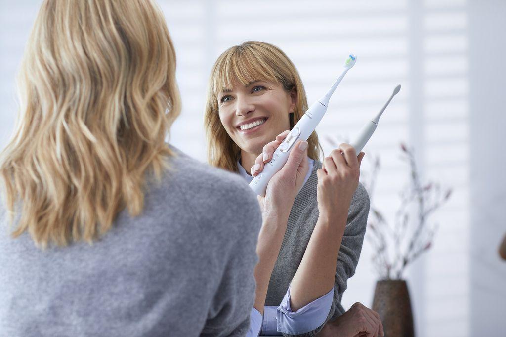 Uz Philips Sonicare ćčetkicu ne morate brinuti o tehnici pranja zubi