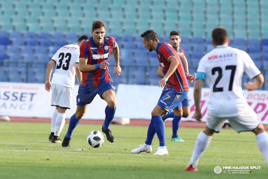 Stanko Jurić i Adam Gyurcso (Foto: Hajduk.hr)