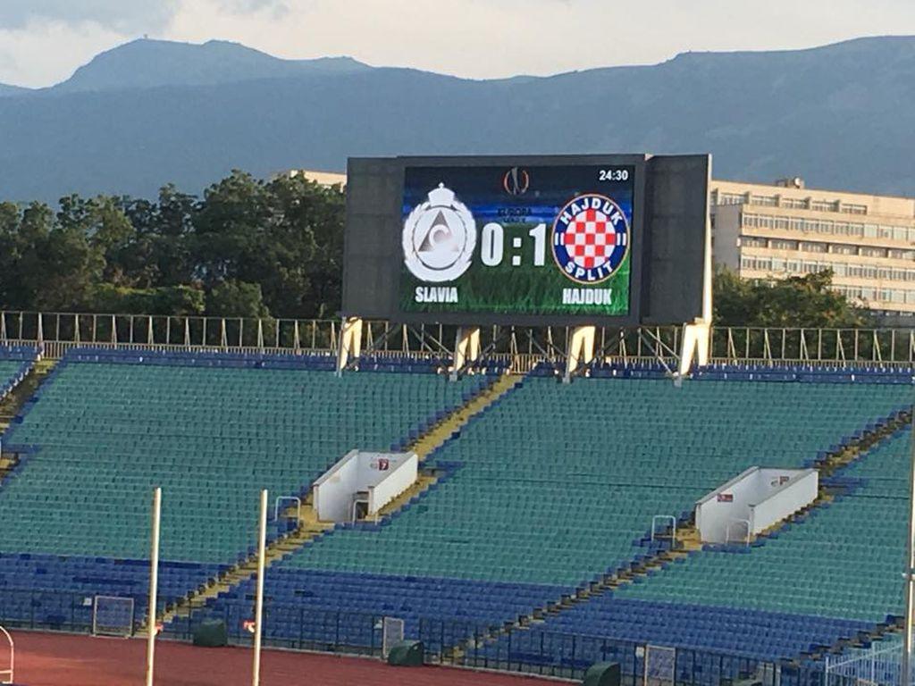 Vodstvo Hajduka u Sofiji (Foto: Hajduk.hr)