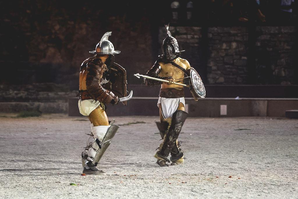 Gladijatori nisu smjeli biti niži od 170 centimetara, trenirali su uz vrhunske stručnjak
