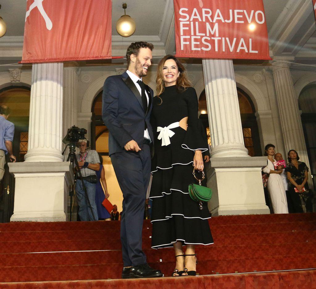 Severina u haljini brenda Proenza Schouler na 24. Sarajevo Film Festivalu