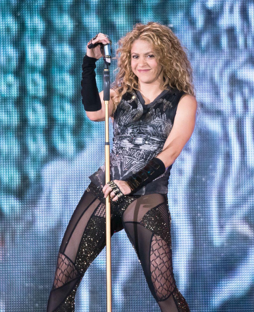 Shakira u Madison Square Gardenu - 1