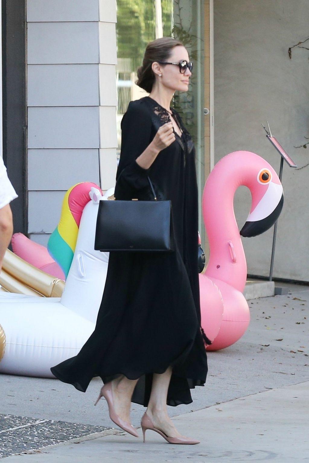Angelina je nosila štikle Christiana Louboutina