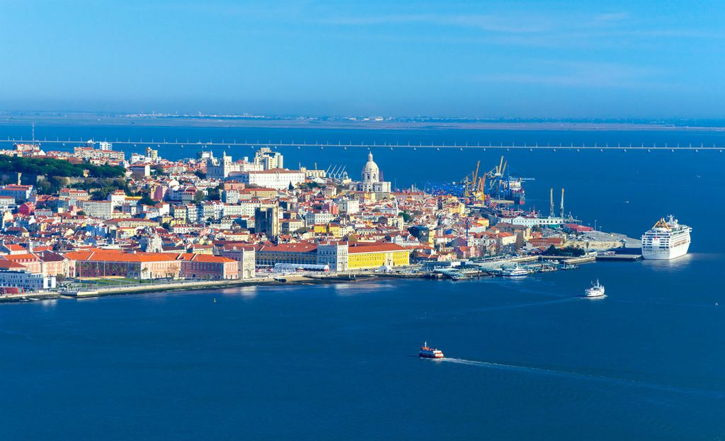 Pogled na Lisabon