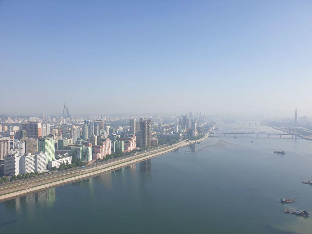 Panorama Pyongyanga