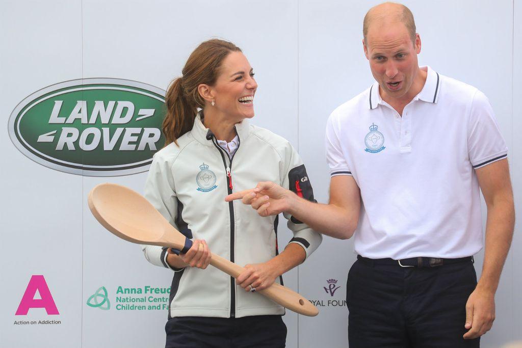 Kao nagradu za zadnje mjesto, Catherine je dobila veliku drvenu žlicu