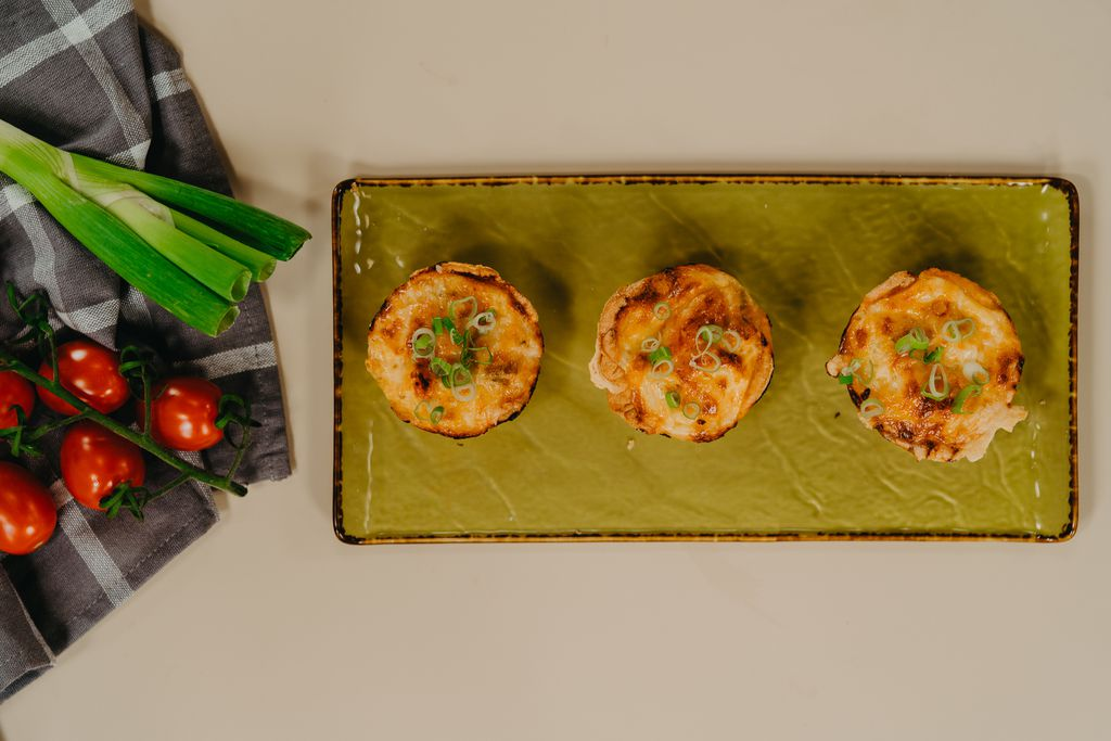 Mini tartovi s piletinom i cherry rajčicom - 4