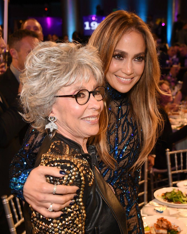 Rita Moreno i Jennifer Lopez 2014. na dodjeli nagrada GLAAD