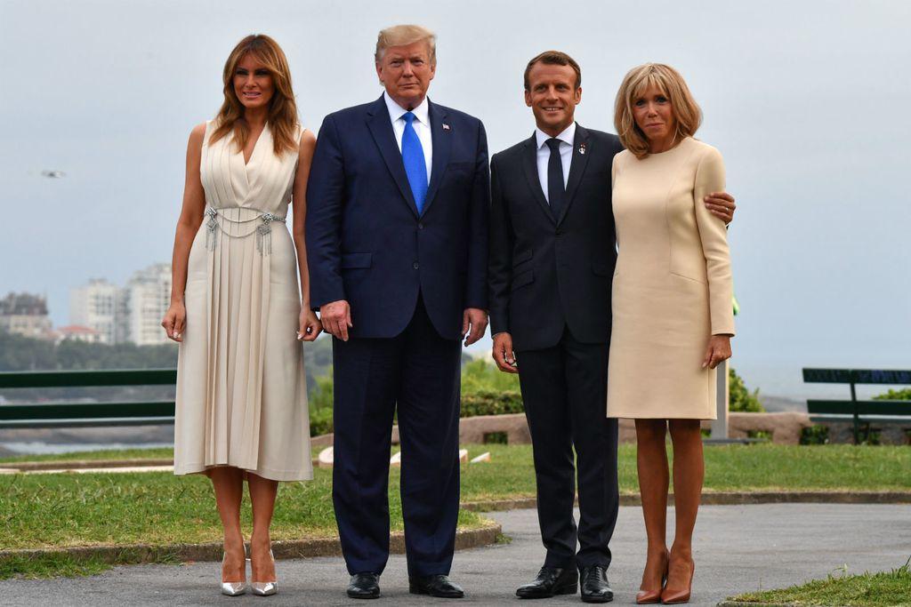 Melania Trump vs. Brigitte Macron - 1