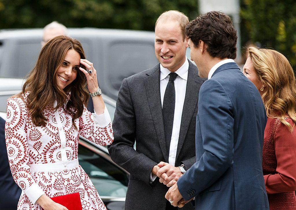 Catherine Middleton i Justin Trudeau 2016. u Kanadi
