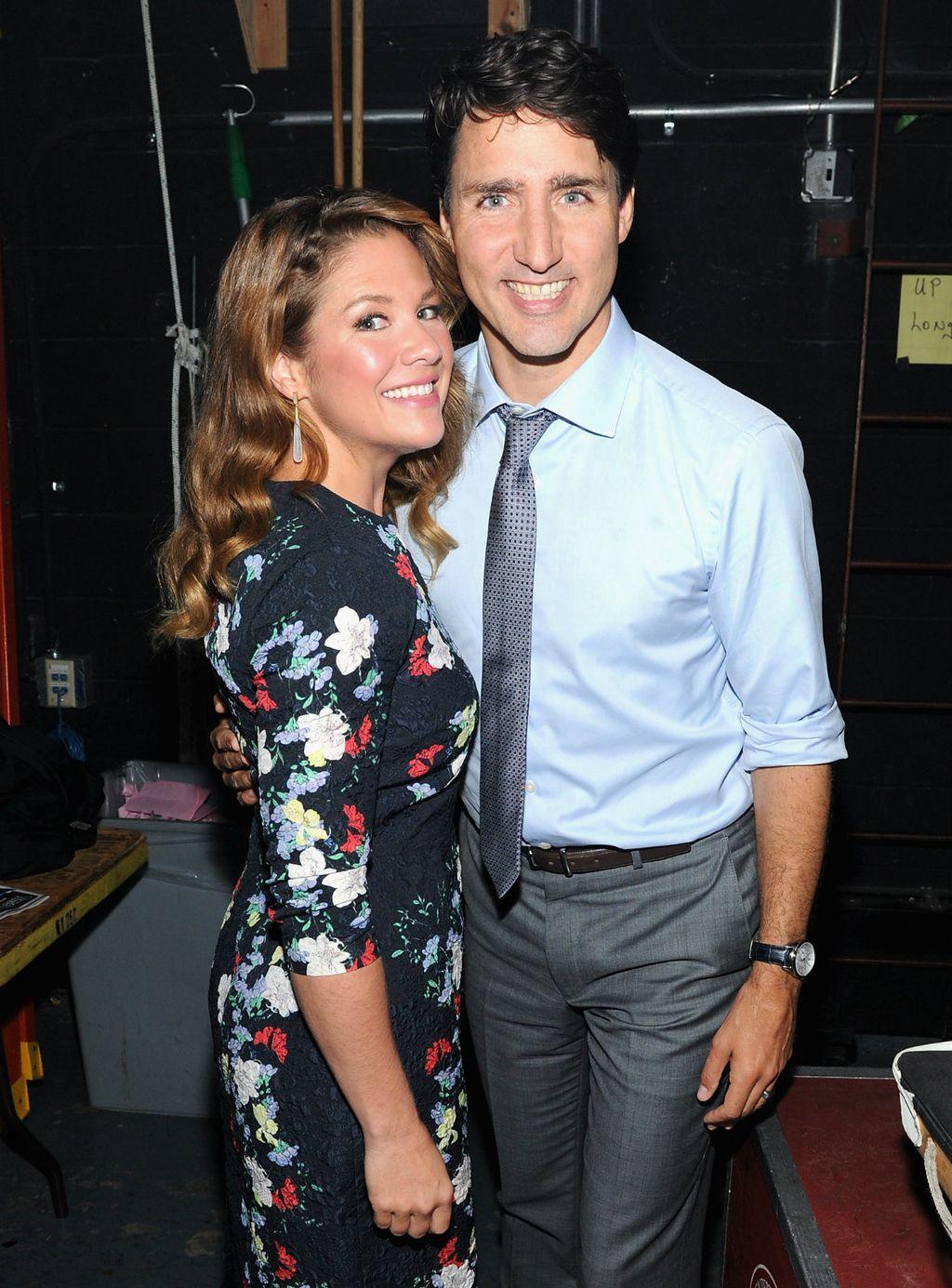 Sophie i Justin Trudeau