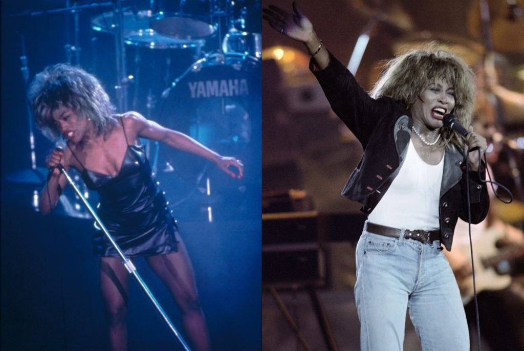 Angela Bassett/ Tina Turner