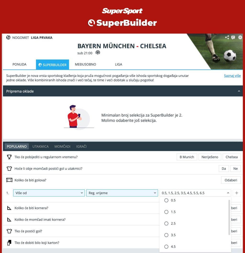 SuperSport - SuperBuilder - Liga prvaka 3