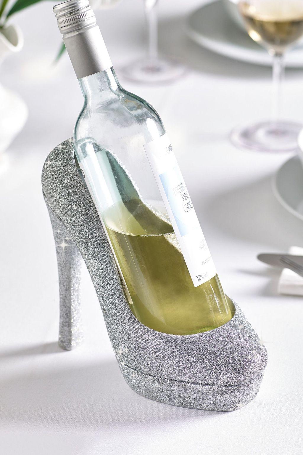 Stalak za vino u obliku štikle - 1