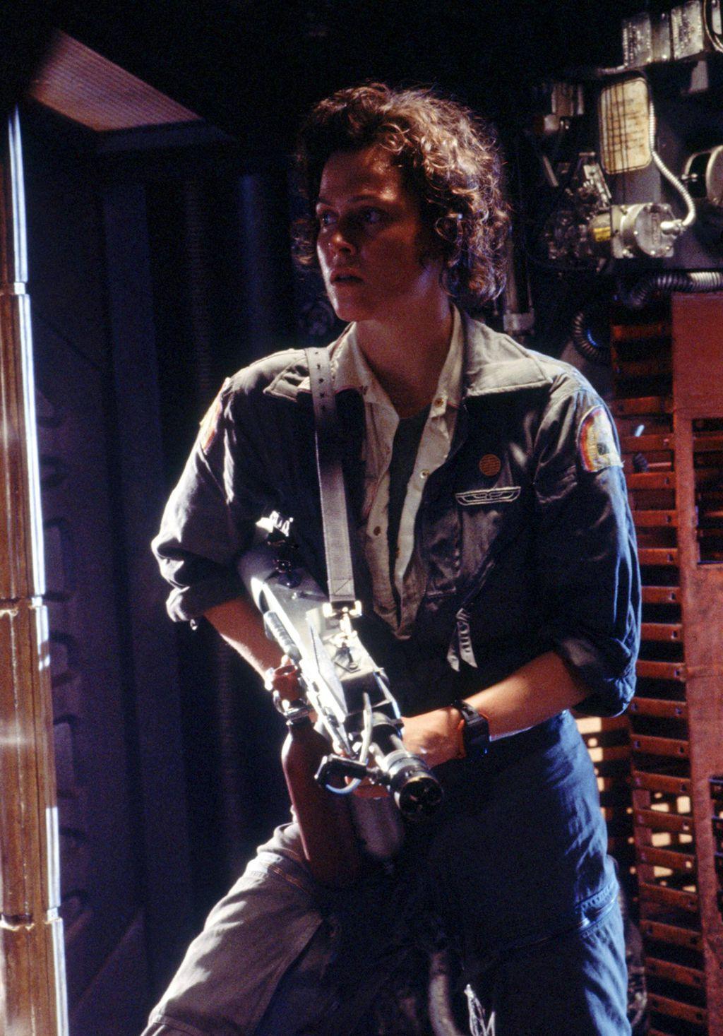 Ellen Ripley (Sigourney Weaver)