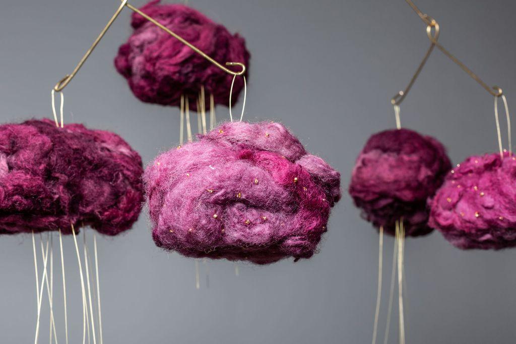 Oblaci od vune u raznim bojama i dimenzijama