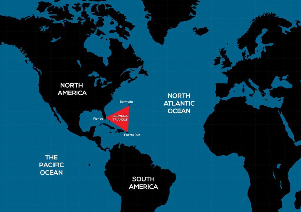 Karta Bermudskog trokuta