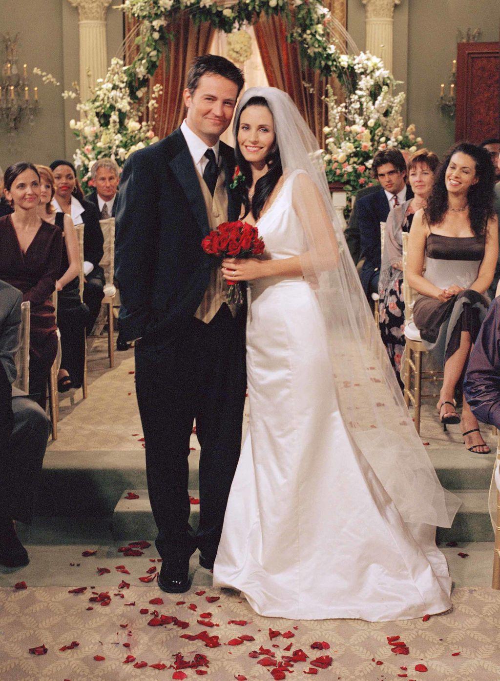 Courteney Cox i Matthew Perry glumili su Monicu i Chandlera u Prijateljima - 1