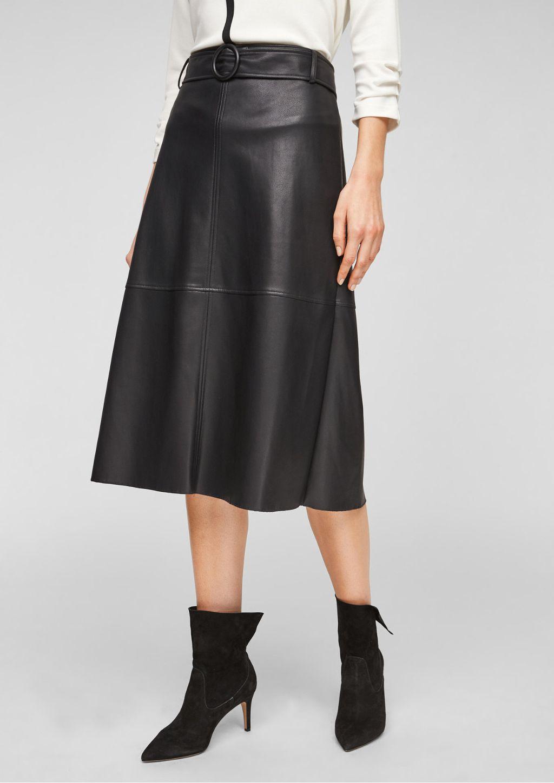 Crne suknje midi i maksi kroja iz trgovina - 2021. - 10