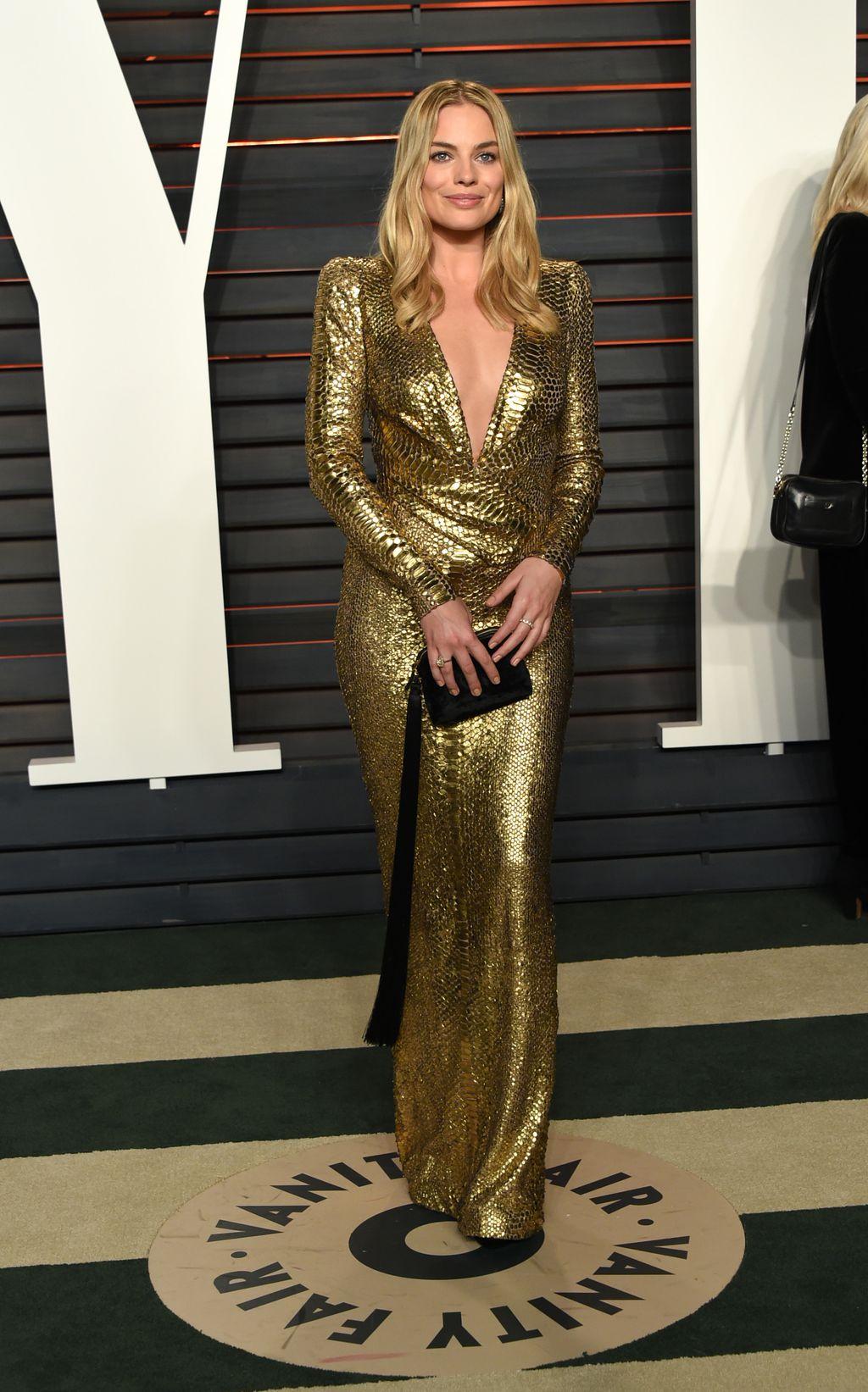 Margot Robbie na dodjeli Oscara 2016. godine