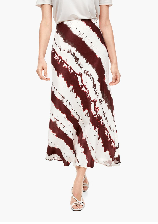 Duge suknje s uzorkom iz novih kolekcija - jesen 2021. - 1