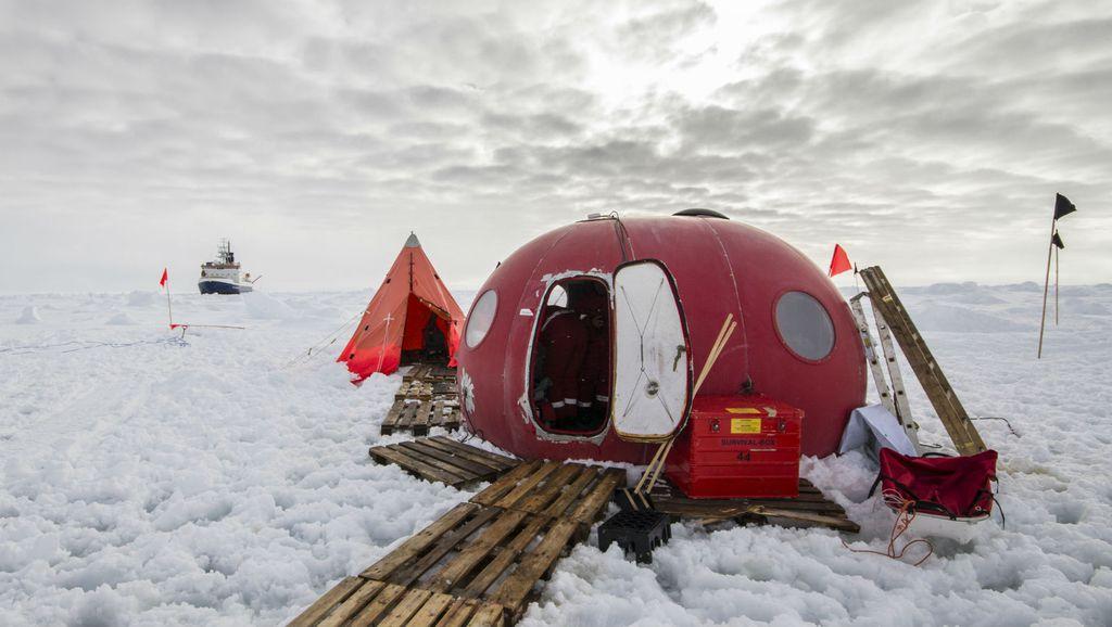 Spavanja u šatorima na temperaturama ispod nule