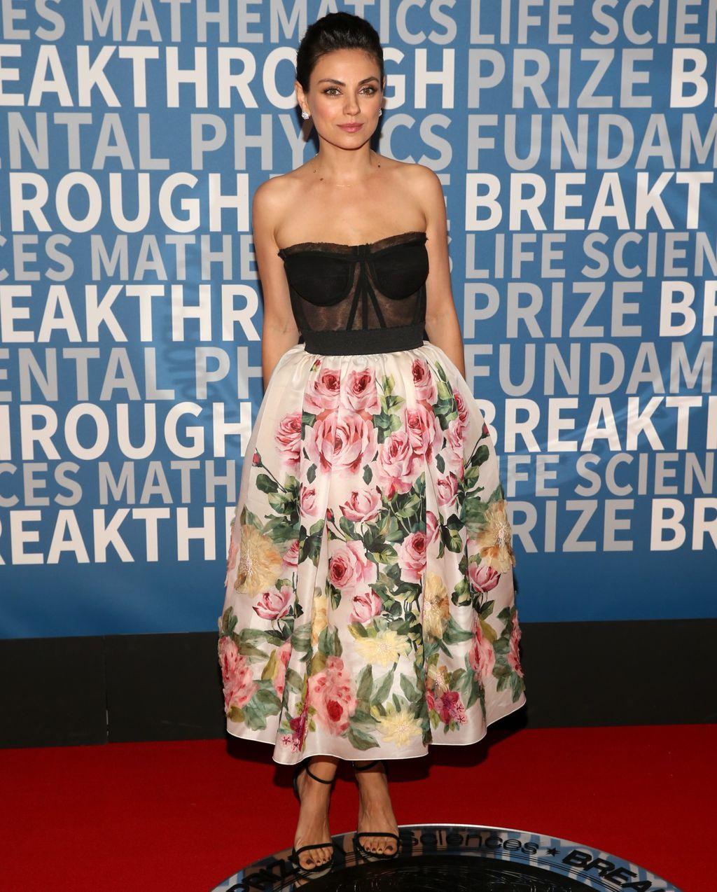 Mila Kunis na dodjeli nagrada Breakthrough Prize 2018+ - 1