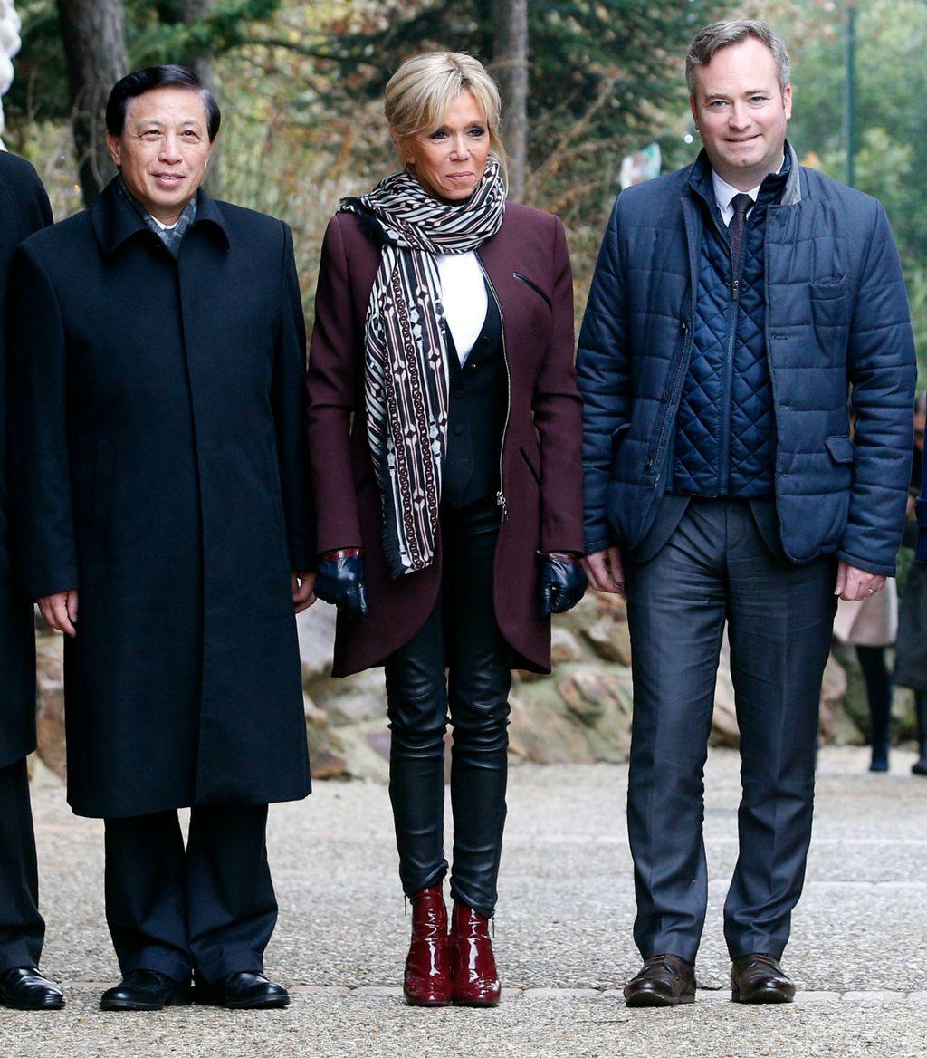 Brigitte Macron prilikom posjeta zoološkom vrtu