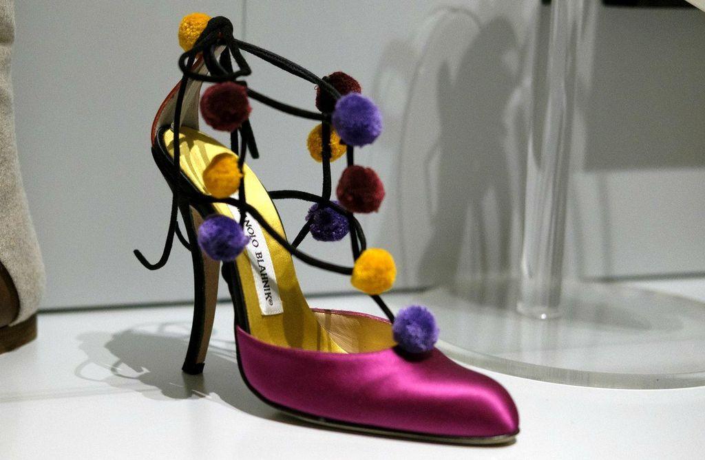 Izložba cipela Manoloa Blahnika u Madridu - 9
