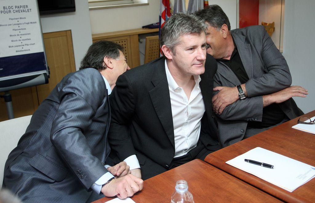 Mamić, Šuker i Vučemilović-Šimunović (Foto: Igor Kralj/PIXSELL)