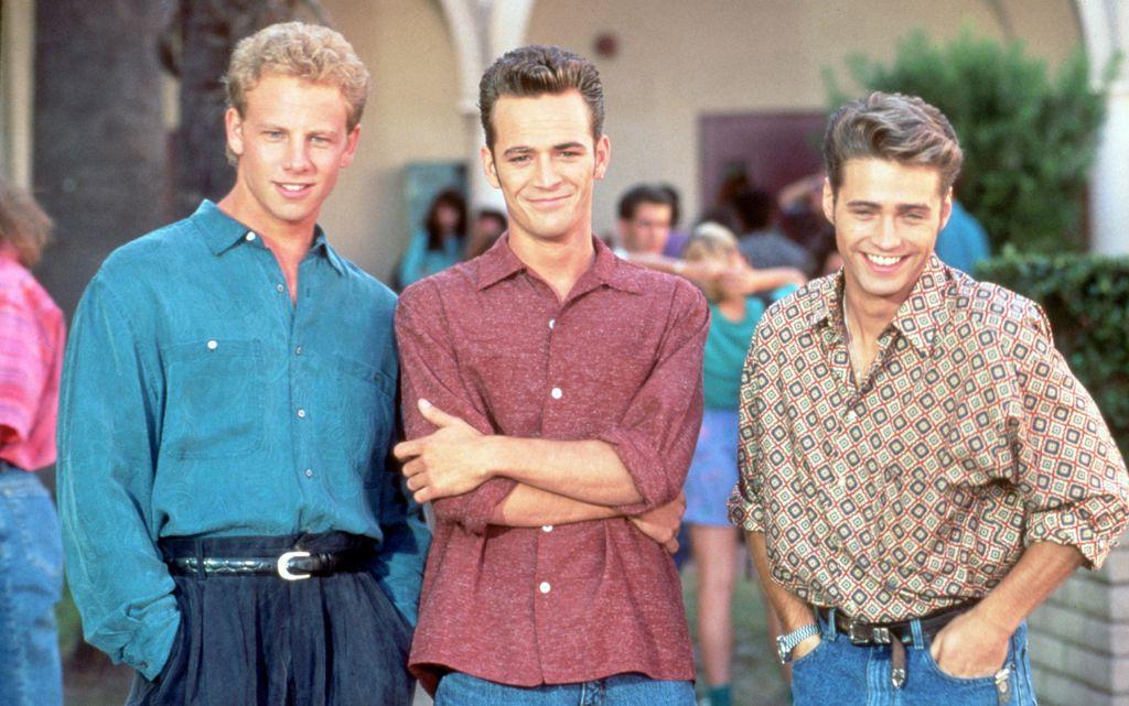 Ian Ziering, Luke Perry i Jason Priestley, zvijezde serije 'Beveryl Hills 90201'