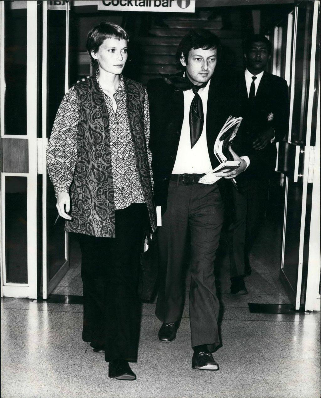 Mia Farrow i Andre Previn