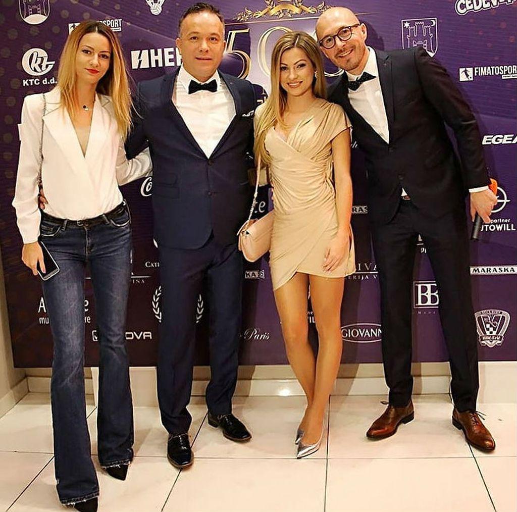 Magdalena Bokanović, Ante Breko, Iva Bokanović i Vlado Turković (Foto: Željko Bakšaj/Sport nedjeljom)