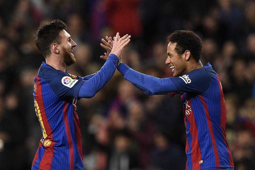 Neymar i Leo Messi (Foto: AFP)